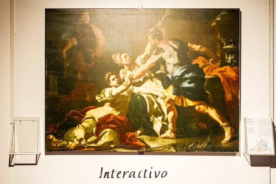 INTERACTIVO, un nuovo modo per vivere un'opera d'arte